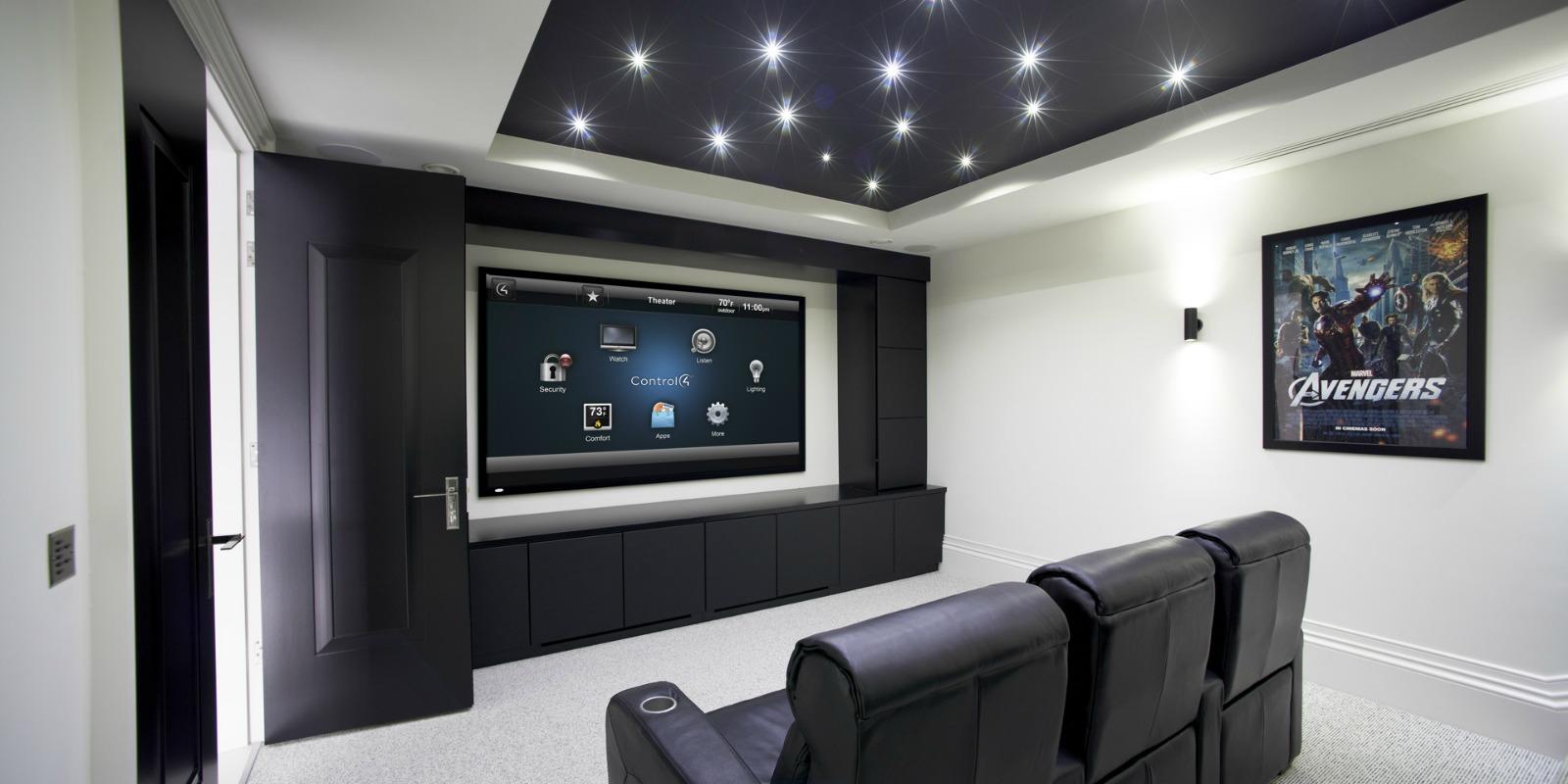 control4 entertainment system