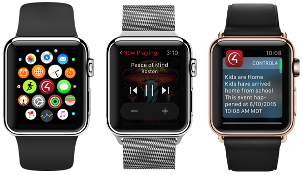 Control4 Apple Watch App